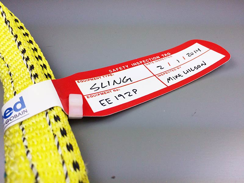 Bespoke Inspection Tags From LES | Lifting Equipment Store