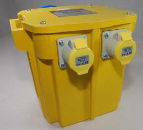 110v 5kVA Transformer C/W 32A Plug