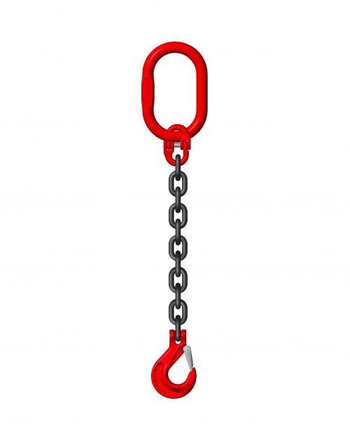 Grade 8 8mm 1 Leg 2.0 Tonne Chain Slings