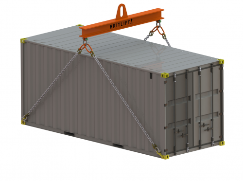 20ft ISO Container Lifting Beam Low Headroom
