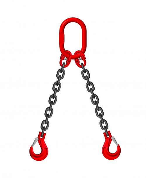 Grade 8 20mm 2 Leg 17.00 Tonne Chain Slings