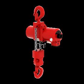 Red Rooster Top Hook Suspension 500kg Mini Air Hoist