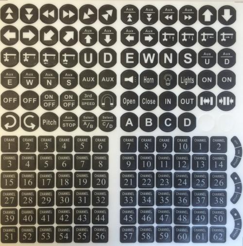 ARC Flex Directional Marker Legend Sheet