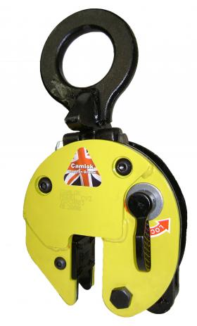 Camlok CY Hinged Vertical Plate Lifting Clamps