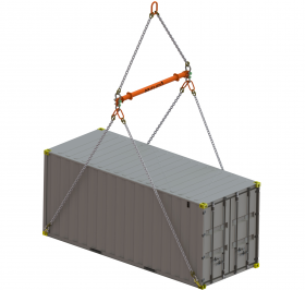 20Ft ISO Container Lifting Spreader Beam (Modular)