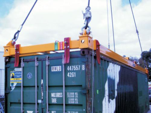 Container Lifting Frames
