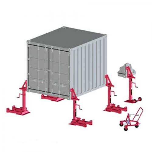 Container Support Jacks