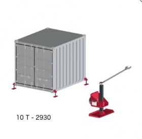 Container Leveling Jacks