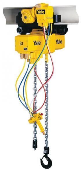 Yale CPA Heavy Duty Pneumatic Chain hoist