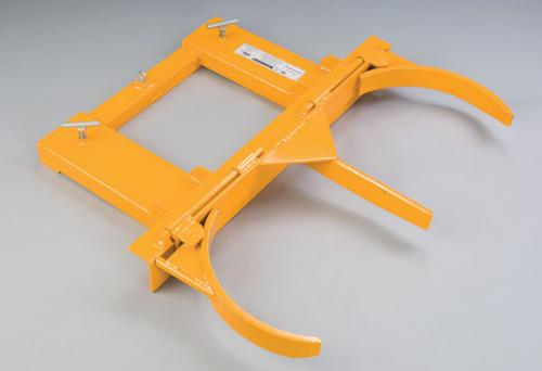 Double Steel Drum Grab For Forklift