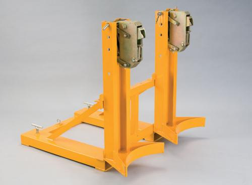 Double Rim Grip Drum Grab Forklift Attachment