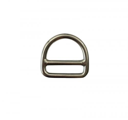 Stainless Steel Double Bar Dee Ring