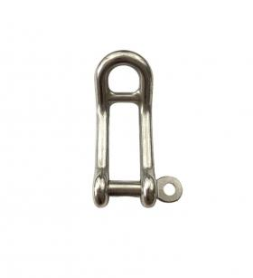 Stainless Steel Double Bar Dee Shackle with Captive Pin