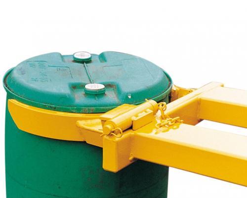 Plastic & Steel 210L Forklift Drum Grab