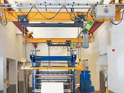 Stahl Dual Hook Chain Hoist