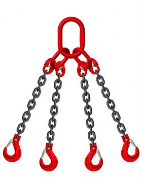 Empty 20ft Container Lifting Sling Kit