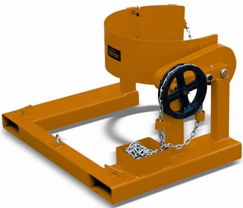 Forklift Drum Rotator Attachment