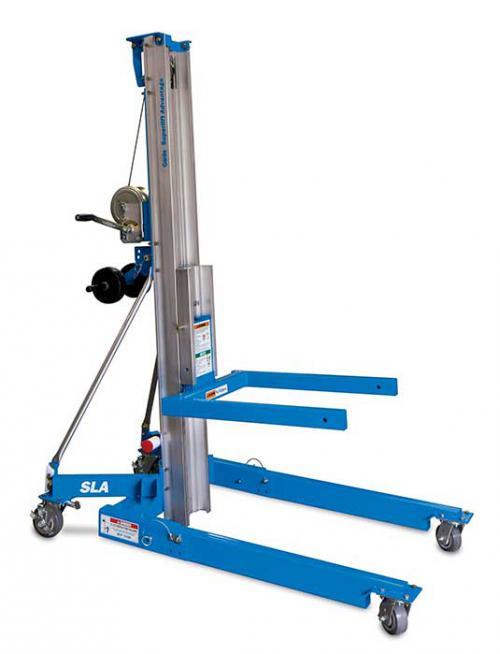 Genie Superlift Advantage SLA-10 Material Lift Winch Stacker