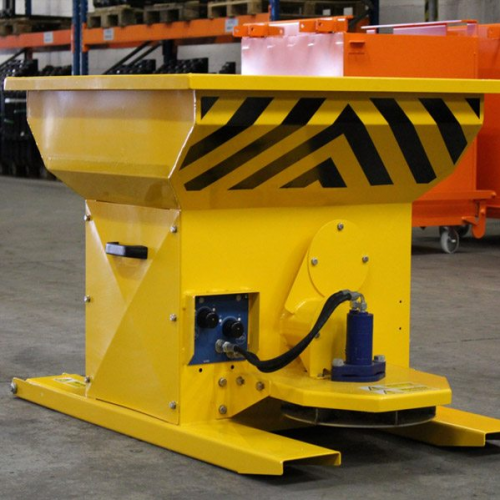 Hydraulic Gritter Forklift Attachment