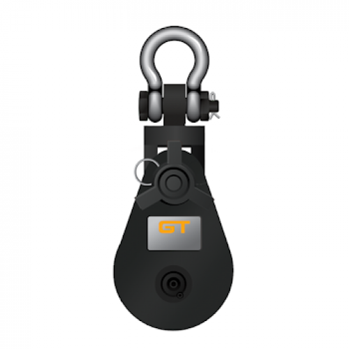 Lightweight Oil Industry Snatch Block- Shackle Head