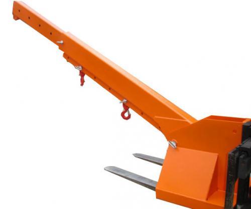 Height Adjustable Extendable Forklift Jib