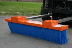 Forklift Road Sweeper Attachment