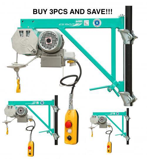 Bulk Offer 3pcs ES150 Scaffold Hoist