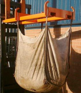 Forklift/Telehandler Sand Bag Carrier