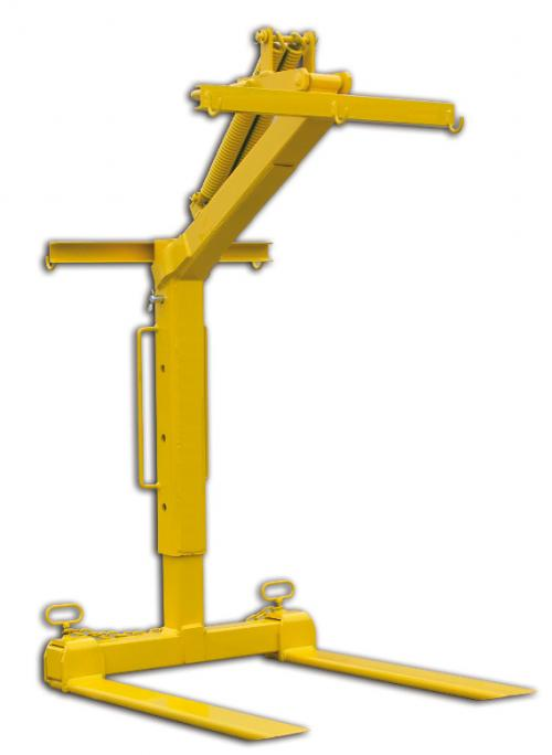 Boscaro Adjustable Pallet Crane Forks