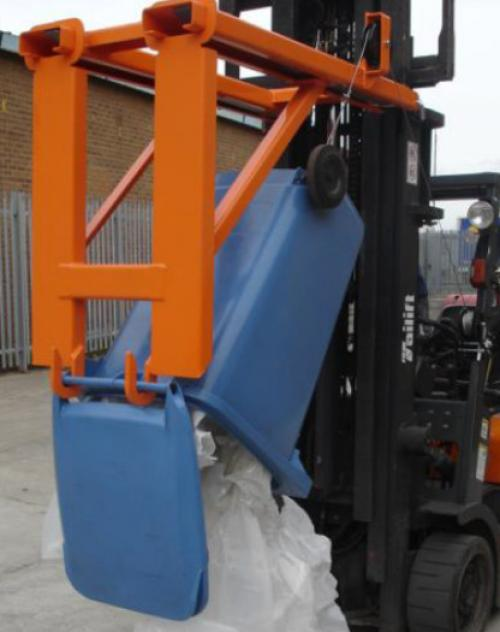 Fork Mounted Wheelie Bin Lifter