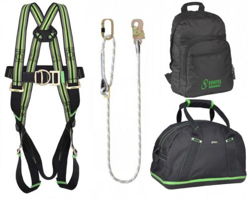 Kratos 2 Point Restraint Kit With Adjustable Rope Lanyard