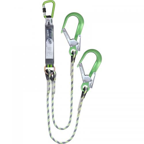 Kratos Shock Absorbing Y Forked Kernmantle Rope Lanyard