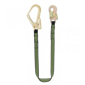 Kratos Restraint Webbing Lanyard With Scaffold Hook