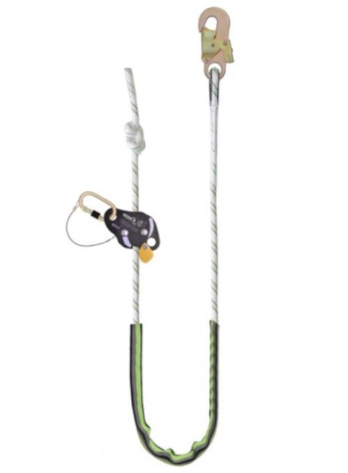 Kratos Work Positioning Kernmantle Rope Lanyard With Grip Adjuster