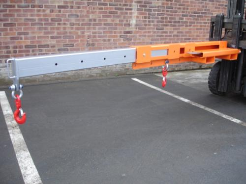 Low Profile Extending Forklift Jib