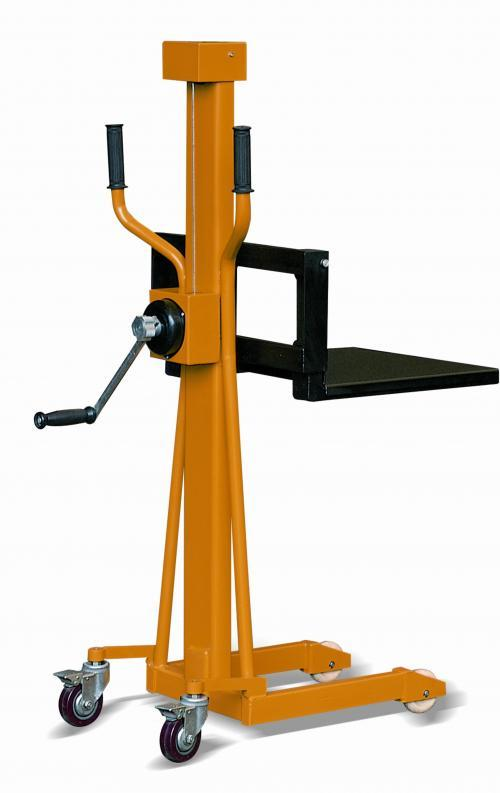 LS Mini Stacker with Adjustable Forks & Platform
