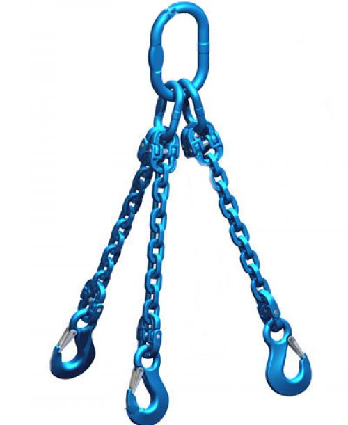 Pewag Grade 12 7mm Chain Sling 5.00 Tonne 3 Leg