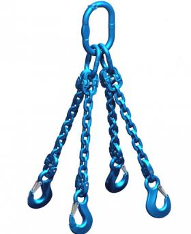 Pewag Grade 12 7mm Chain Sling 5.00 Tonne 4 Leg