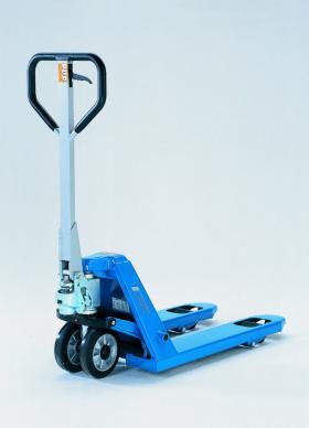 Pfaff silberblau 'printers' pallet truck