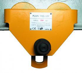 Plain Push Travel Trolley