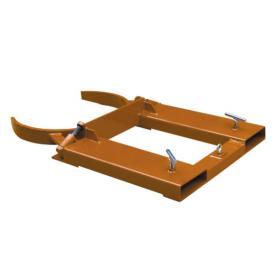 Adjustable Single 30 or 55 Gallon Steel Drum Grab