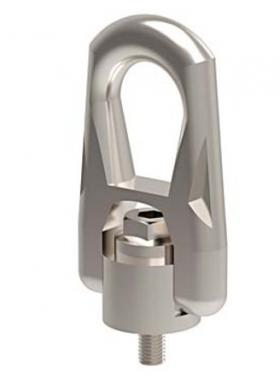 Stainless Steel Double Swivel Lifting Ring