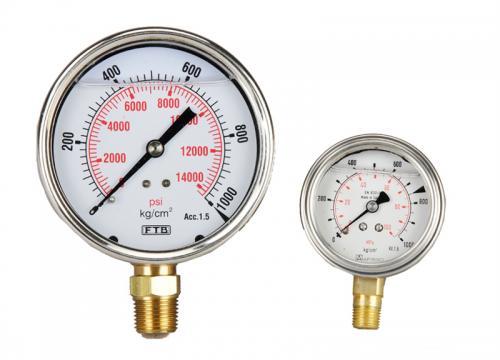 Tecpos Hydraulic Pressure Gauge