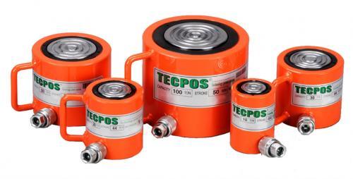 Tecpos \'Shorty\' Low Profile Hydraulic Cylinders