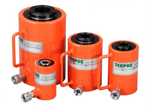 Tecpos Single Acting Hollow Centre Cylinders