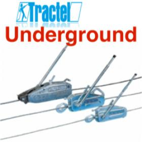 Tractel Tirftor TU Wire Rope Cable Puller For Use Underground