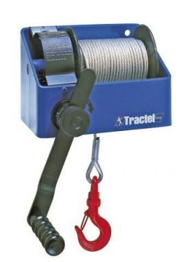 Tractel CaRol TS Manual Drum Worm Winch