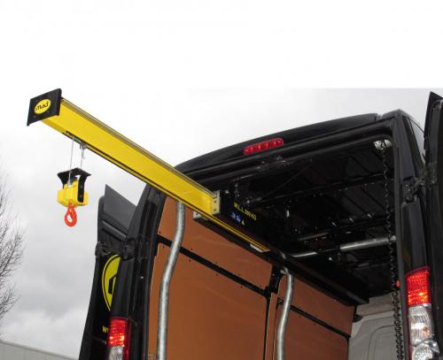 Mad EasyLoad Van and Lorry Crane 500kg