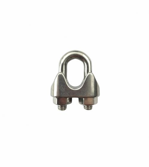 Stainless Steel Wire Rope Grip Din 741