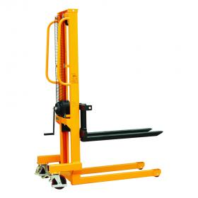 WS Manual Winch Stacker With Adjustable Forks